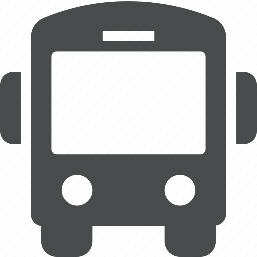 bus, metro, public, station, transport, transportation icon