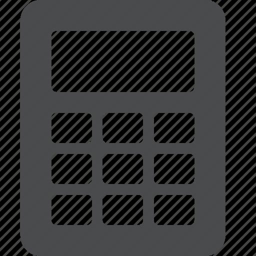 accounting, calculator, count, finance, math, mathematics, maths icon