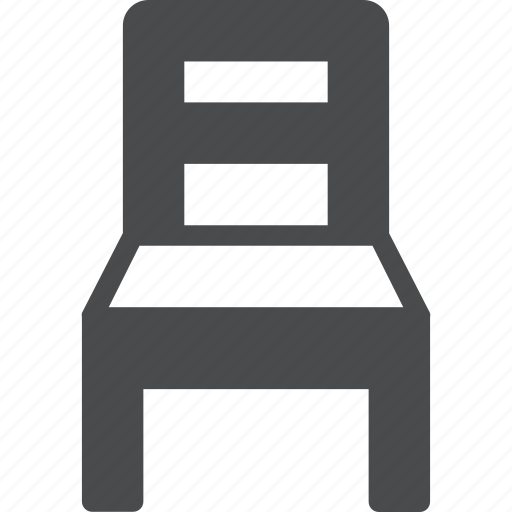 belongings, chair, furniture, interior, seat icon