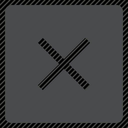 cancel, checkmark, close, delete, done, remove icon