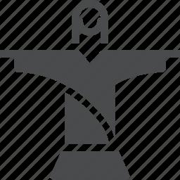 brazil, christ, christianity, jesus, landmark, redeemer, religion icon