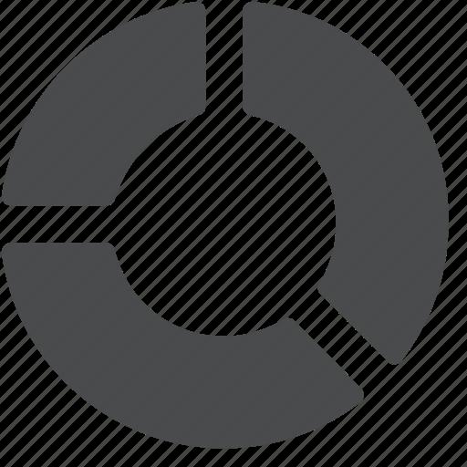 analysis, analytics, chart, circle, graph, pie, report icon