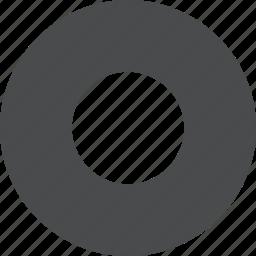 circle, select icon