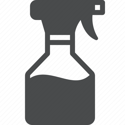 bottle, clean, cleaner, cleaning, housekeeping, spray icon