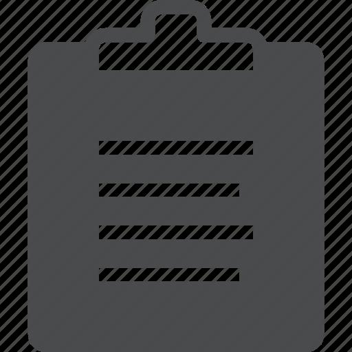checklist, clipboard, list, report, text, to do icon