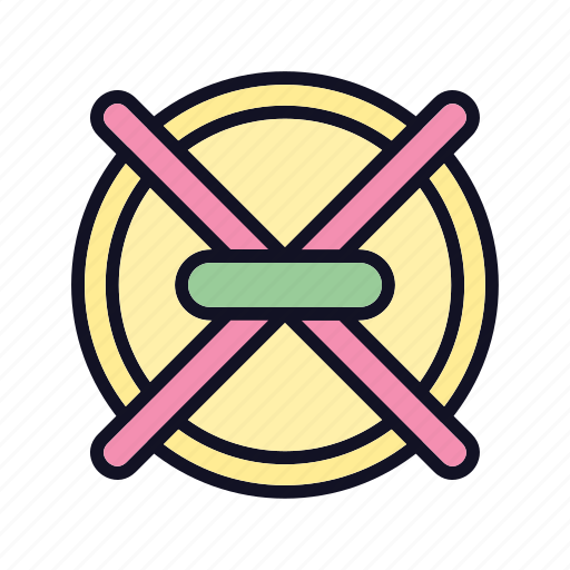 business, cancel, money, no, online, seo, sign icon
