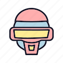 alien, alien-mask, celebration, costume, halloween, horror, mask icon