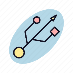 android, connection, device, mobile, technology, wireless icon