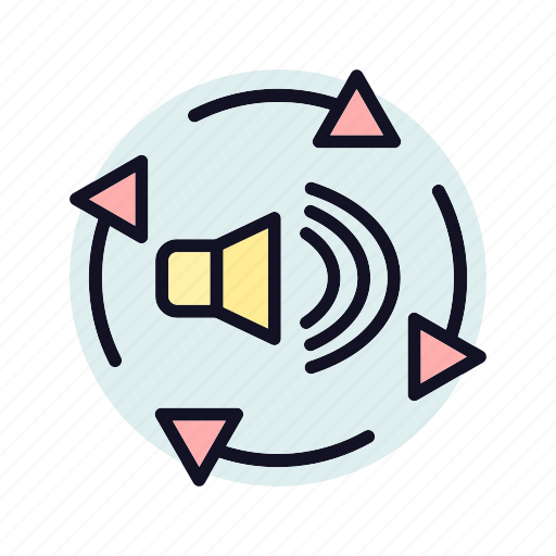 audio, audio-converter, converter, microphone, multimedia, speaker, volume icon
