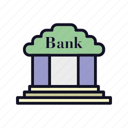 account, bank, bank-account, banking, finance, financial, payment icon