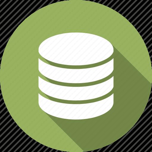data, network, server, storage icon