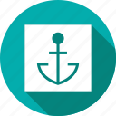 anchor, boat, marine, nautical, sailor, ship, tattoo icon