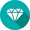 brilliant, diamond, gem, gemstone, jewel, premium, rhinestone icon