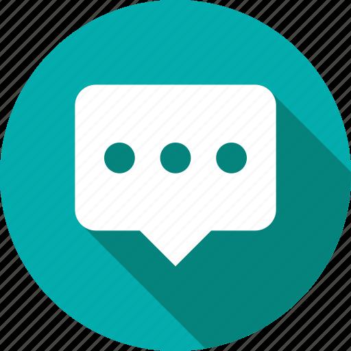 bubble, chat, chatting, communication, conversation, inbox, message icon