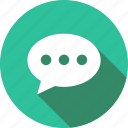 bubble, chat, comment, streamline, support, talk icon
