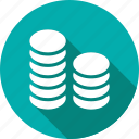 finance, business, marketing, coins, banking, bank icon