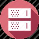 center, database, storage, hosting, server, data, rack icon