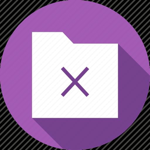 data, delete, exit, files, folder, remove icon