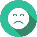 depression, frown, sad, upset icon