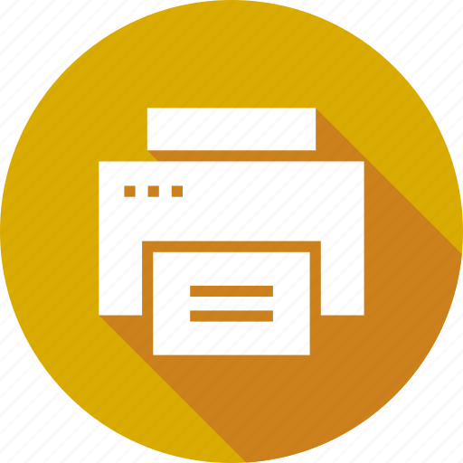 device, paper, print, printer, printing, technology icon