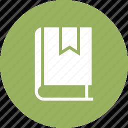 book, bookmark, education, favorite, mark, school icon