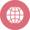 earth, global, globe, internet, map, world icon