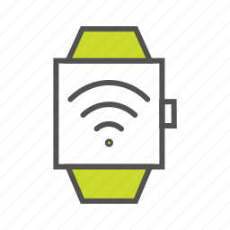 internet of things, iot, smart watch, technology, wearable device, wrist watch icon