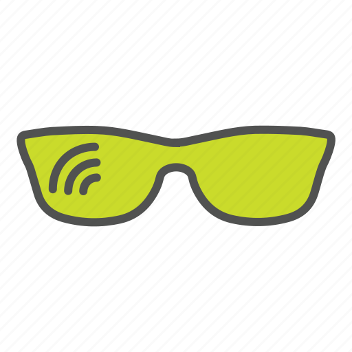 google glass, googles, internet of things, iot, smart glass, technology icon