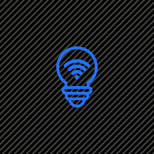 creativity, idea, innovation, iot, technology icon