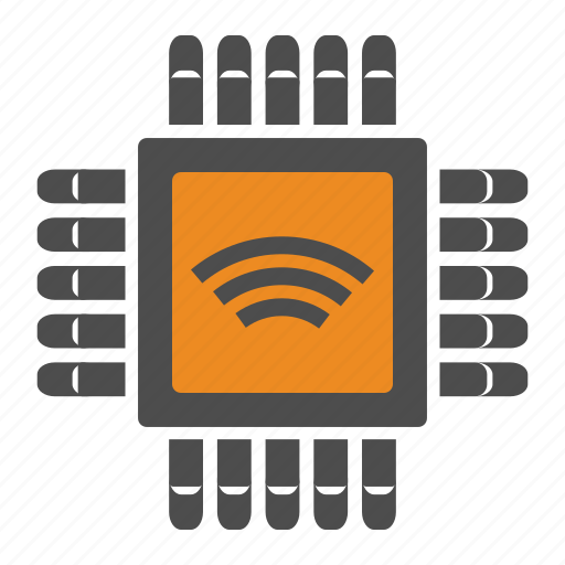 Chip, internet, internet of things, iot, wifi icon - Download on Iconfinder