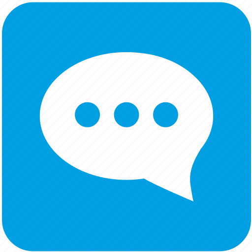 app, dialog, message, mobile icon