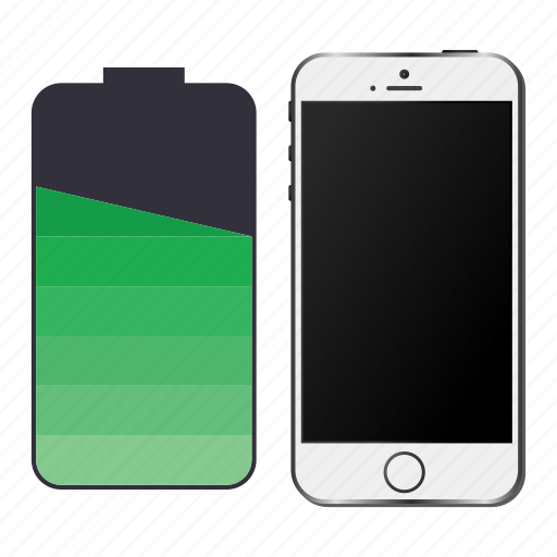 battery, device, energy, iphone, smartphone icon