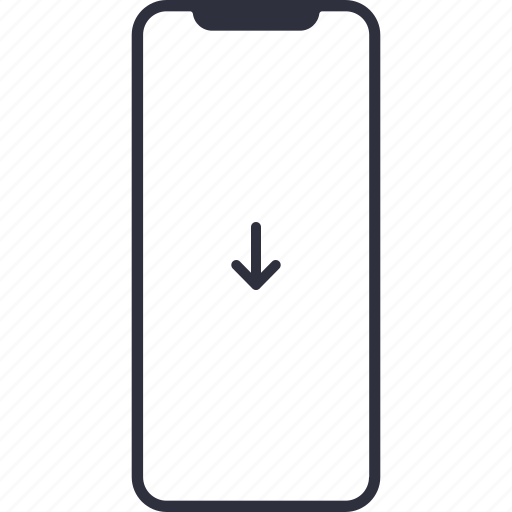 arrow, arrows, direction, down, download, iphone 10, iphone x, iphonex icon