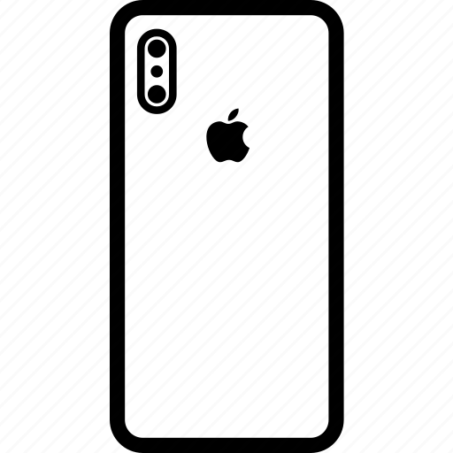 Back, camera, device, iphone x, iphonex, side icon