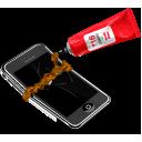 apple, iphone, broken