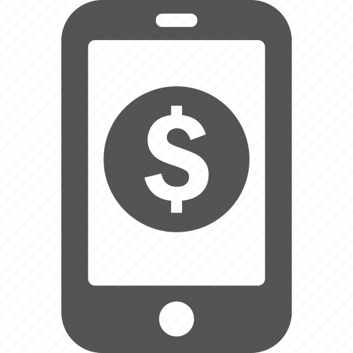 android, ecommerce, finance, iphone, mobile, money, payment icon