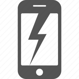 android, broken, call, damaged, iphone, mobile, phone icon