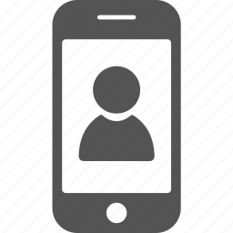 android, call, contact, iphone, mobile, phone icon