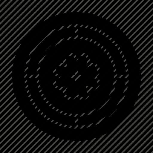 Circle, flower, spring, sunflower icon - Download on Iconfinder