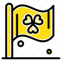 flag, ireland, sign icon