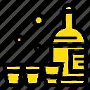 bottle, drink, glass, ireland icon