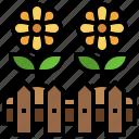 garden, farming, gardening, sprinkler, ground