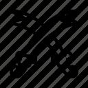 cross, sword, war, weapon icon