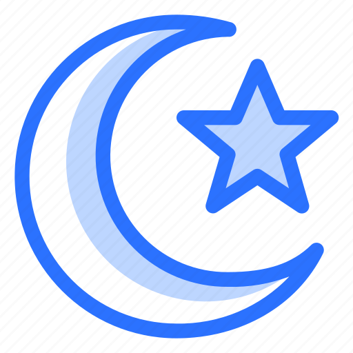 Arabic, islam, islamic, moon, muslim, religion, stars icon - Download on Iconfinder