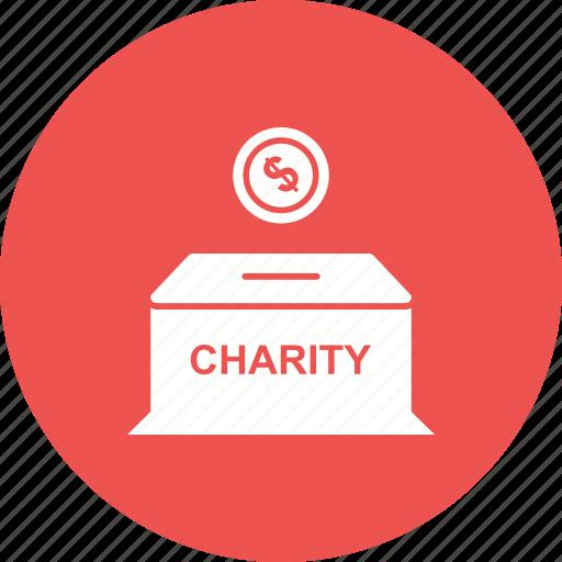box charity donation finance islamic money mosque icon