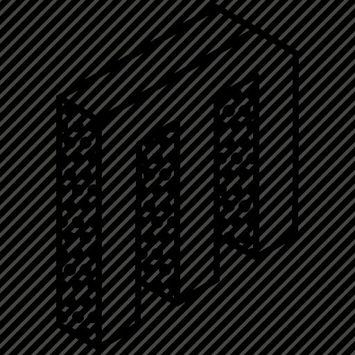 3d alphabet, alphabet, english, kindergarten, letter m icon
