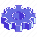 engine, gear, machine, work, working icon