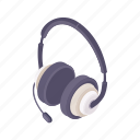 audio, headphones, music, sound icon