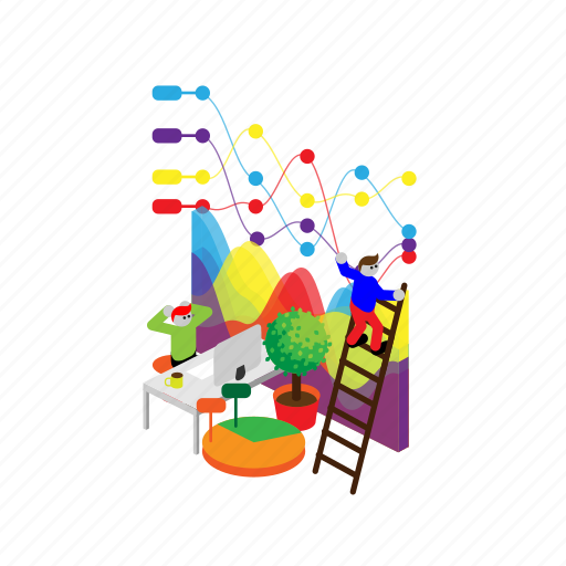 analysis, analytics, data, diagram, graph, statistics, variable icon