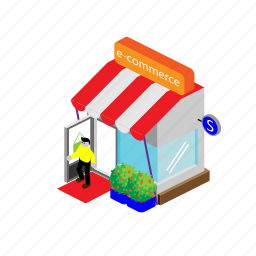 business, commerce, ecommerce, office, shop, store icon